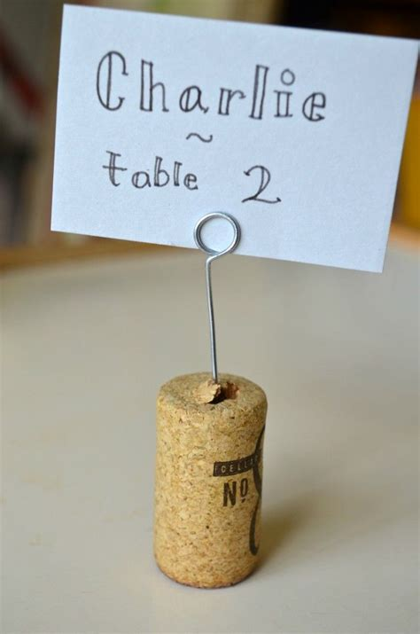 diy place card holders i would make it a little bit more