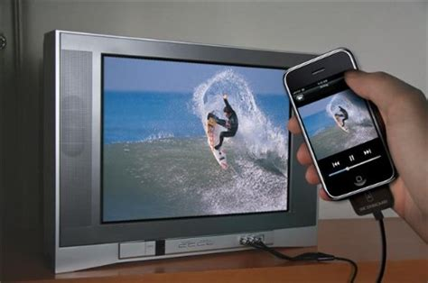 iphone to tv showtime connects your iphone to any tv ohgizmo