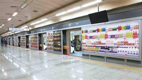tesco homeplus subway virtual store  south korea