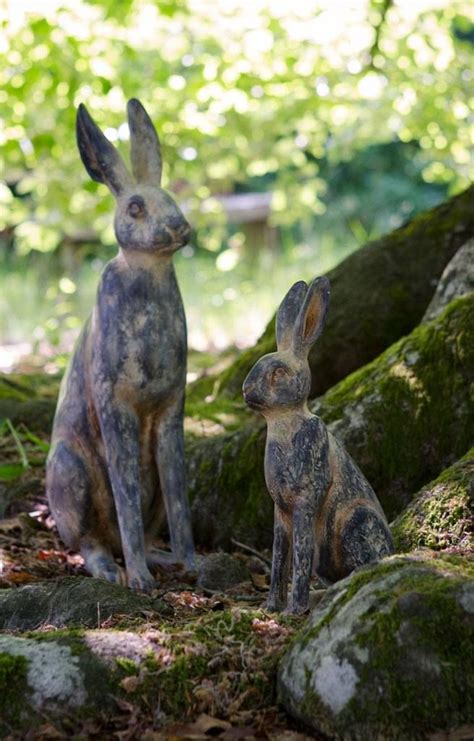 bunny garden statue 17 best images about outdoor rabbits on