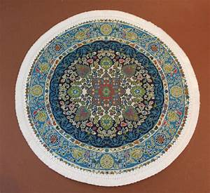 Teppich Blau Grün : teppich rund blau gr n swisttaler puppenstuebchen ~ Yasmunasinghe.com Haus und Dekorationen