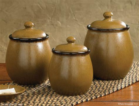 molasses ceramic canister set