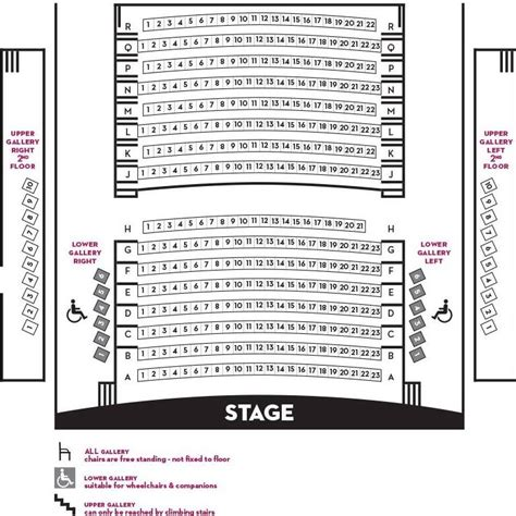 Florence Little Theatre - Florence, SC: Seating Chart