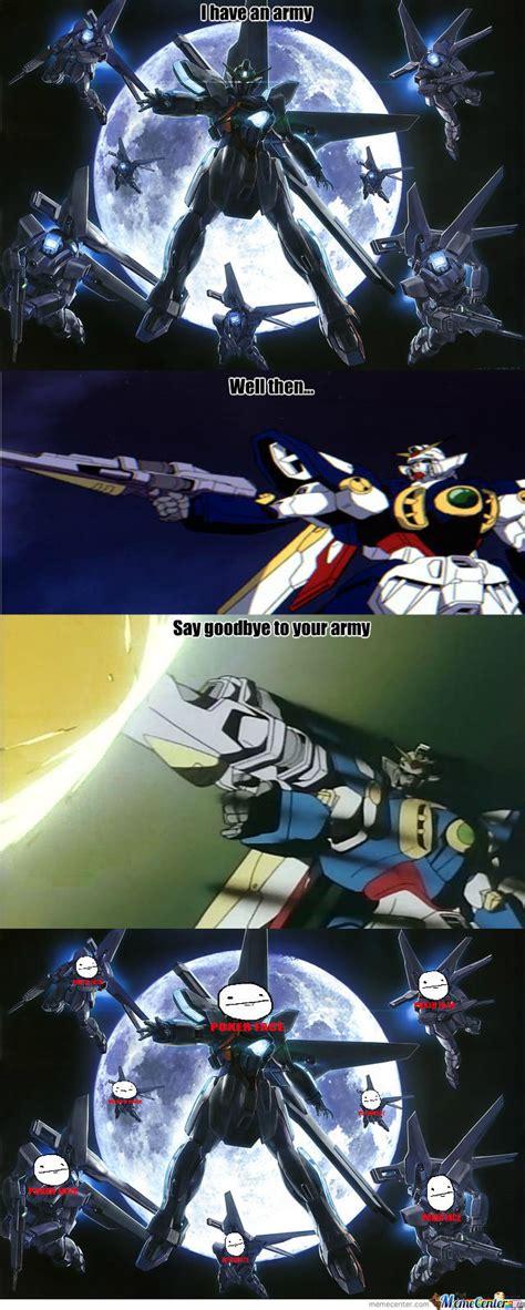Gundam Memes - gundam x s army by genthar meme center