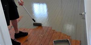 how to paint wood floors today39s homeowner With how to varnish wood floors