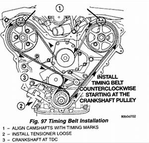 Need Diagram To Replace Timing Belt On 2000 Dodge Intrepid
