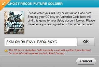 ubisoft customer service phone number cd key or activation code already in use anno 2070 pc