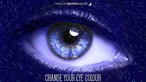 change eye color spell magical recipies how to change your eye colour spell