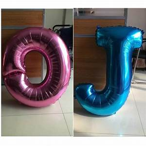 popular pink letter balloons buy cheap pink letter With light pink letter balloons