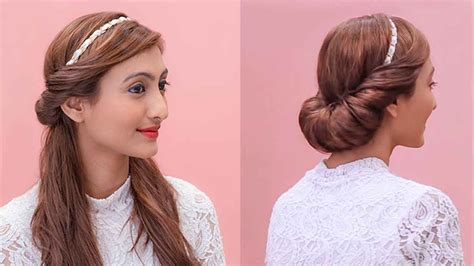 hairstyles   hairband grecian updos youtube