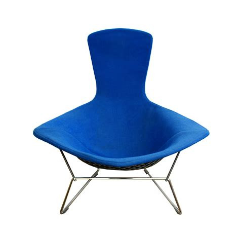 original bird chair by harry bertoia for knoll mid century