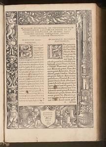 Plain Letter Erasmus Novum Instrumentum 1516 A1r Early Printed Books