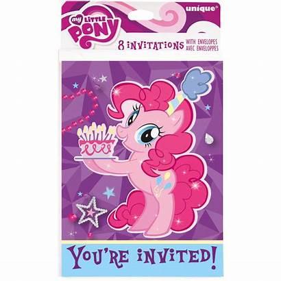Pony Invitations Birthday 8ct Party Walmart Michaels