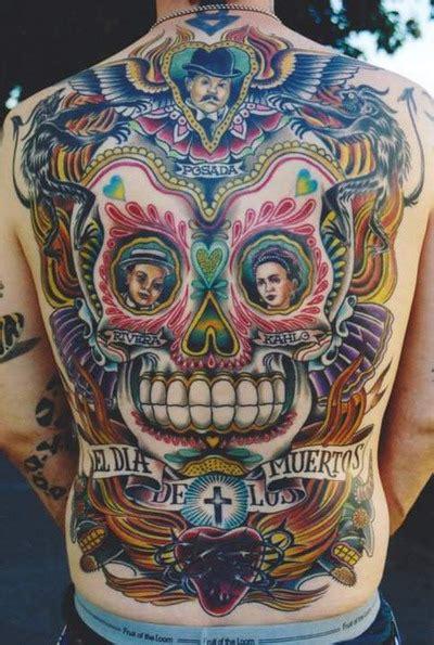 full  skull tattoos