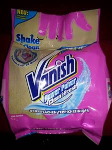 Teppich Reinigen Vanish : speisenundreisentest test vanish oxi power pulver teppichreiniger ~ A.2002-acura-tl-radio.info Haus und Dekorationen