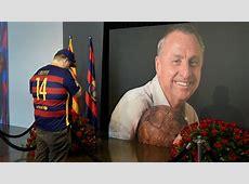 Clasico comment le Barça va rendre hommage à Cruyff