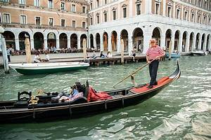 File Gondolier On The Grand Canal  Venice  Italy Jpg