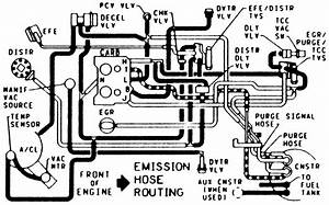 Cheverolet 1996 Mark 111 Van Vacumn Hose Diagram
