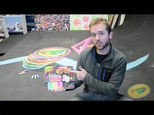 Crayola Neon 3D Sidewalk Chalk with Chris Carlson