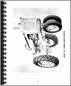 Case 530 Tractor Operators Manual