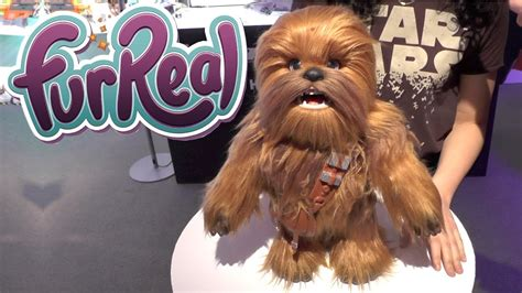 Star Wars Furreal Ultimate Co Pilot Chewie Youtube