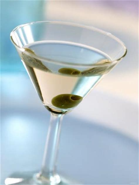 martini olive martini dry cocktail drink with gin vermouth dry olive