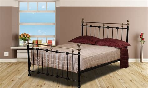 sweet dreams kimberley ft kingsize black metal bed frame