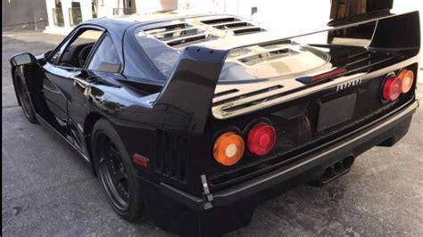 In modern sense, it had no elaborate dash. TV Restored Ferrari F40 Caught Up In Fraud Scheme   Motorious
