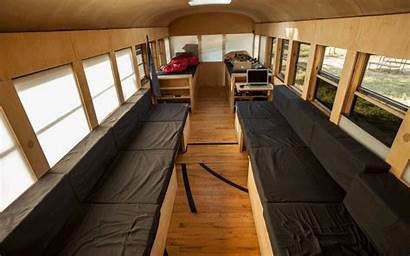 Bus Conversion Converted Rv Into Tiny Vehicle