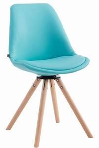 Fauteuil Chaise Scandinave : chaise visiteur calais similicuir pivotante fauteuil design scandinave bois neuf ebay ~ Melissatoandfro.com Idées de Décoration