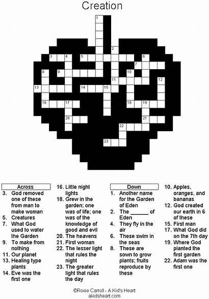 Bible Crossword Puzzles Creation Games Activities Church