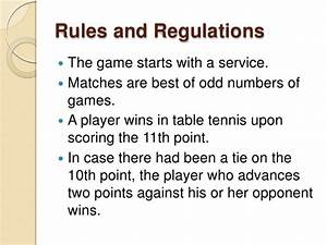 Table Tennis Scoring System Rules Brokeasshomecom