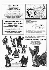 Classic Miniature Ads from White Dwarf Magazine Page Four