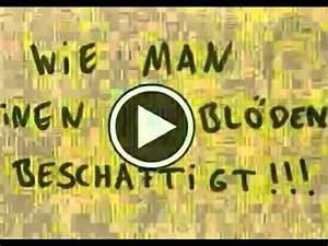 Wie Entfernt Man Sekundenkleber : wie man einen bl den besch ftigt youtube ~ A.2002-acura-tl-radio.info Haus und Dekorationen