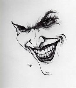 Joker drawing by GrayWolfcg on DeviantArt