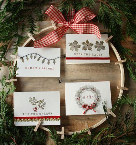 beautiful diy homemade christmas card ideas home