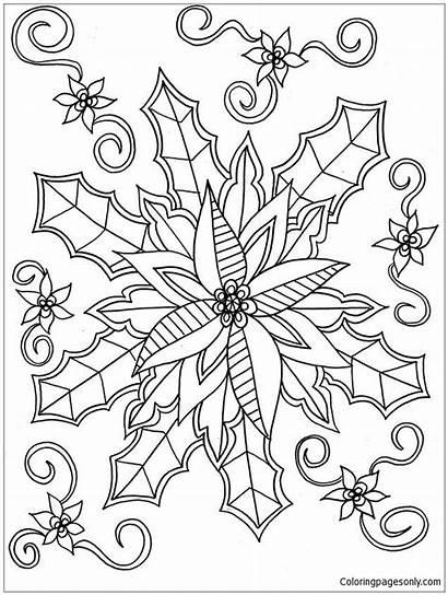 Mistletoe Pages Coloring