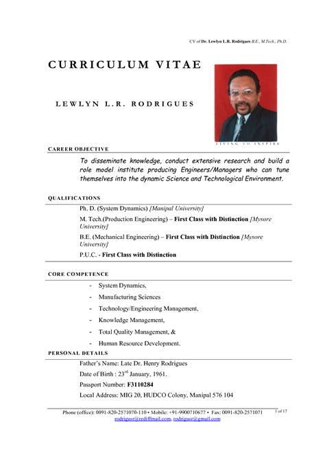 Model Cv Resume by Cv Model Photography Models