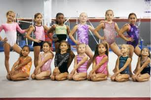 Girls Gymnastics Team Level