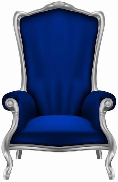 Chair Clipart Arm Furniture Transparent Yopriceville Cartoon