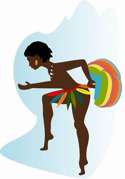 African Dancer Dancing Dance Recreation Svg Wpclipart