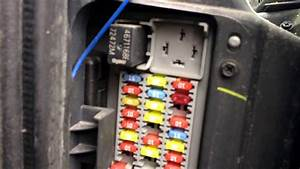 2010 Jeep Wrangler Interior Fuse Box Location