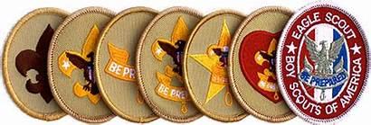 Boy Scout Scouts Ranks Badges Merit Troop