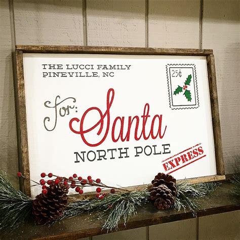 framed wood sign holiday ar workshop gallery