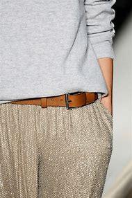 Tan Pants Grey Sweater