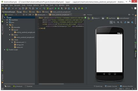 A Tour Of The Android Studio User Interface
