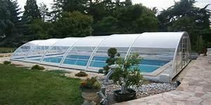 Abri Piscine Haut : abri piscine sahri un abri semi haut pour votre piscine ~ Zukunftsfamilie.com Idées de Décoration