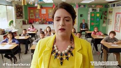 Teacher Teachers Classroom Tv Gifs Class Students