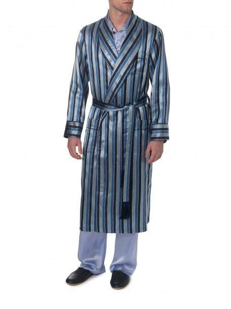 Verona 18 Navy Robe - Derek Rose   Derek Rose   Mens ...
