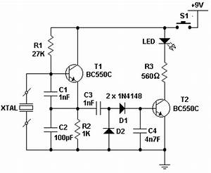 xtal tester circuit diagrams schematics electronic With short circuit testing machine quality short circuit testing machine